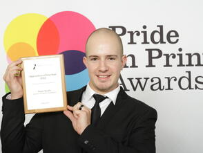 Screen printer scoops Apprentice of the Year Award